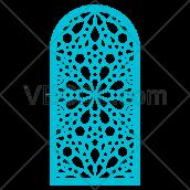 دانلود وکتور طرح پنجره ای و پارتیشن اسلامی
