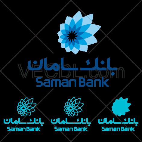 دانلود عکس وکتور آرم بانک سامان