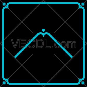 دانلود وکتور قاب و فریم یا حاشیه مناسب حک لیزر